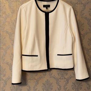 NWT Talbots White Dress Jacket